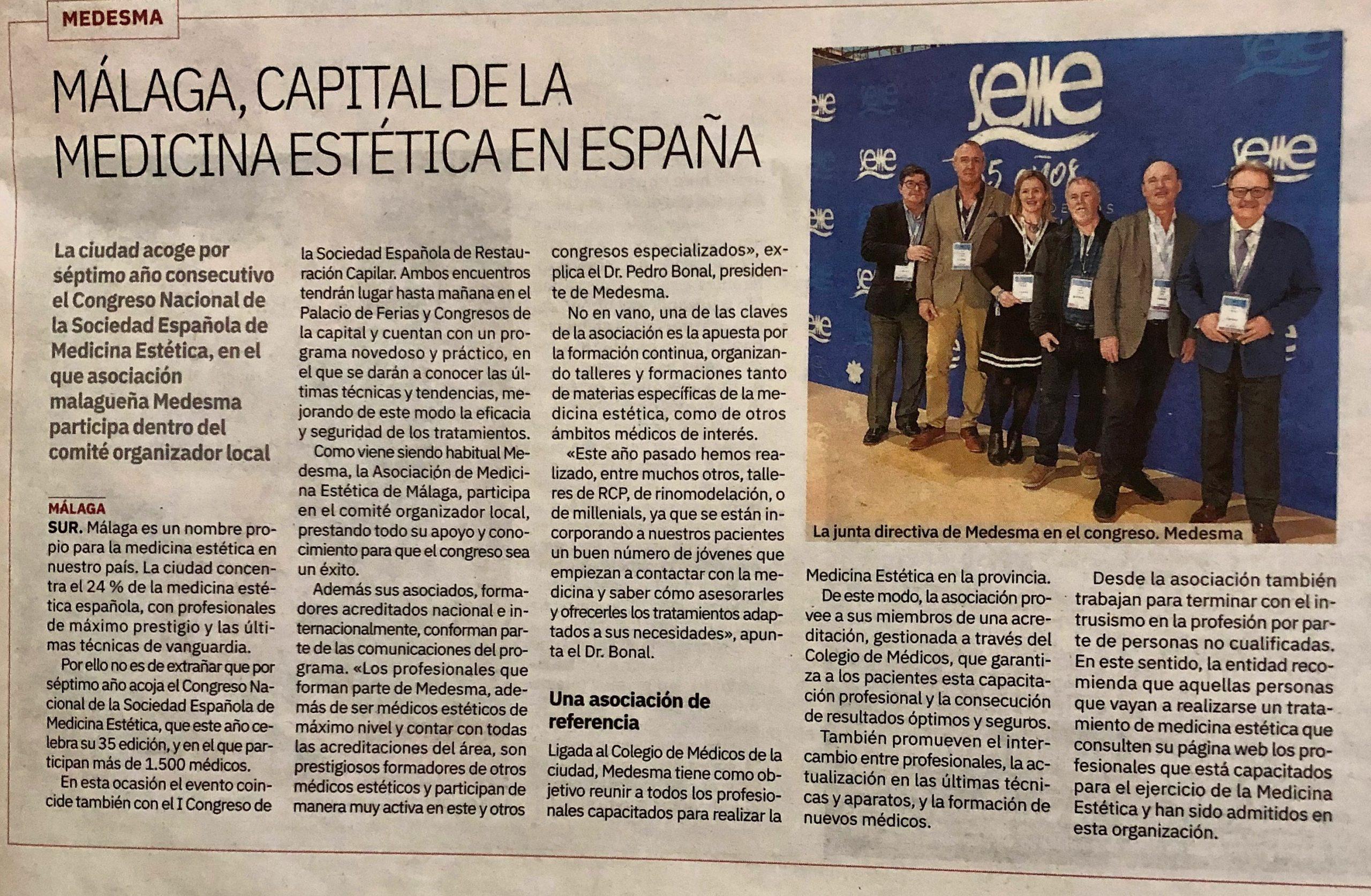 Málaga, capital de la Medicina Estética